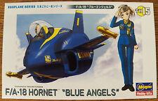 Hasegawa Egg Plane Series F/A-18 Hornet Blue Angels TH15 Plastic model kit