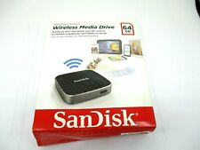 Wifi Wireless 64GB SanDisk Connect Media Drive for Smartphones Tablets Smart USB