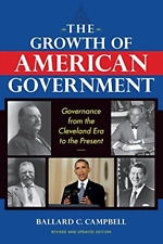 Campbell-Growth Of American Government  BOOK NEW