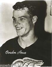 Gordie Howe Rookie Photo A Young Gordie Howe Detroit Red Wings Greatest Player