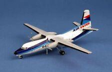 Maquette Fokker 27  AIR INTER En Métal 1/200 F-BPNA Série Limitée à 100 pcs