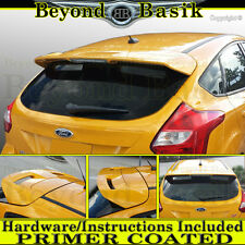 2012-2018 Ford Focus Hatchback ST Factory Style Spoiler Roof Wing Fin PRIMER