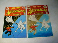 ADVENTURE #425 ORIGINAL COVER ART COLOR GUIDE, 1970's KALUTA