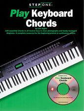Fase UNO PLAY accordi tastieristici imparare a suonare musica pop principianti PIANOFORTE LIBRO