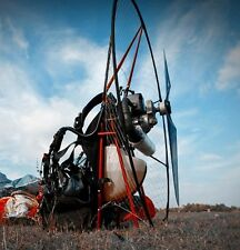 Miniplane ABM Paramotor, featuring the Top 80 engine - Natural Weight-Shift!