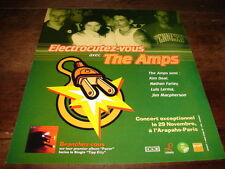 4AD - THE AMPS - PUBLICITE / ADVERT PACER !!!!!!!!!!!!!