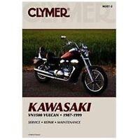 Kawasaki VN1500 1987-1999 [CLYMER MOTORCYCLE REPAIR] by Penton Staff , Paperback