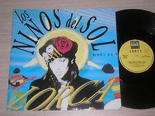 """LORCA - LOS NIÑOS DEL SOL - MAXI-SINGLE 12"""" ITALY"""