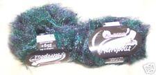 AUSTERMANN Metropolis Fur Type Yarn-Ocean