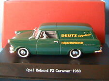 OPEL REKORD P2 CARAVAN 1960 DEUTZ REPARATURDIENST STARLINE 530415 1/43 TOLEE