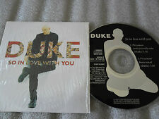 CD-DUKE-SO IN LOVE WITH YOU-PIZZAMAN HOUSE VOCAL-CNR MUSIC(CD SINGLE)1995-2TRACK