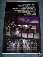 ALIEN NATION(1988)JAMES CAAN 1SHEET NICE!