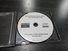 Philips CDI Treasures Of The Smithsonian Demostration Disc Demo Video Game CD-I