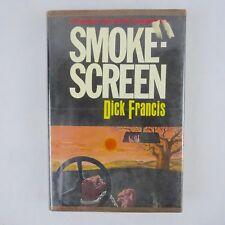 Dick Francis, Smoke Screen, 1972 Harper, 1st Edition w Dust Jacket