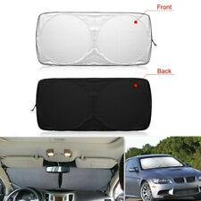 Car Front Windshield Sun Shade Blocks UV Rays Sun Visor Protector Sunshade Cover