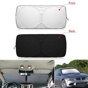 Car Front Windshield Sun Shade Blocks Rays Sun Protector Sunshade Cover