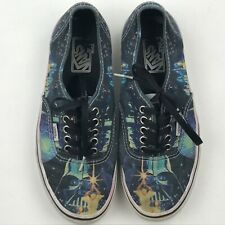 Vans Starwars May The Force Be With You Canvas Sneakers sz Men 7 Women 8.5