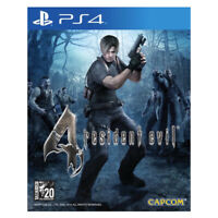 Resident Evil 4 PlayStation PS4 2016 English French German Spanish Sealed