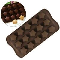 3D Silicone Chocolate Mold Candy Cookie Cake Decor Tool Baking Kitchen J8Y2