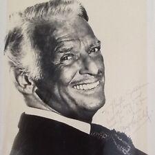 Douglas Fairbanks Jr SIGNED 8x10 Photo  Movie Star  Golden Era of Hollywood