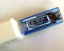 3 in 1 Battery Tester Voltage Current Detector Mobile Power Meter USB Charger