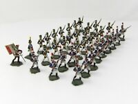 Vintage Hinchliffe, Minifigs & Similar 25mm. Napoleonic French Infantry x 36.