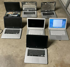 """New listing Lot Of 7 Hp 14"""" Chromebook Laptops 