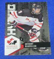 2015 Upper Deck Team Canada Juniors Hydro #H7 Anthony Beauvillier - NM-MT