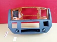 2006-2008 Dodge Ram 1500 2500 3500 Dash Radio Climate Trim Bezel W/ Air Vent OEM