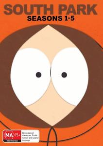 South Park Series Complete Season 1-5 1 2 3 4 5 NEW DVD Box Set Region 4 R4