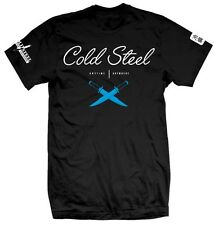 Cold Steel Cross Guard Jiu Jitsu Black Tee Large TJ3 NEW
