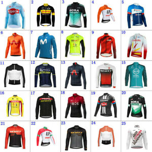 2021 Mens team Cycling Jerseys Cycling Long Sleeve jersey Bicycle jersey