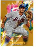 Pete Alonso 2020 Topps Inception 5x7 Gold #64 /10 Mets