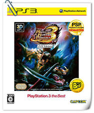 PS3 MONSTER HUNTER PORTABLE 3RD HD VER SONY PlayStation Action Games Capcom