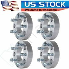 Full Set 15 5x55 To 5x5 Wheel Spacers Adapter For Ram 1500 Ford F 150 Dakota Fits Ford