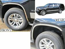 2015-2018 CHEVROLET SUBURBAN 4 Piece Stainless Steel Wheel Well Accent Trim