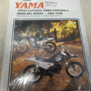 CLYMER M492- YAMAHA PW 50,80,Y-ZINGER,BW 80- 1981-1998 SERVICE REPAIR MANUAL