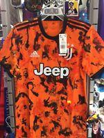 Adidas Juventus 20-21 Orange Black 3rd Jersey Size S Men's Only