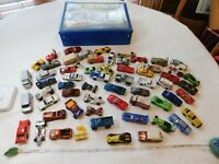 Matchbox Carry case 1978 VAN Sports cars LOT Ferrari hot wheels Vintage Chevy