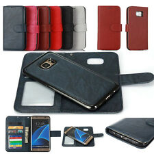 Detachable Leather Magnetic Wallet Flip Case Cover For Samsung S8 S8 Plus Note 8