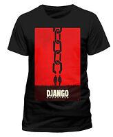 Django Unchained Kino Poster Quentin Tarantino Film Männer Men T-Shirt Schwarz