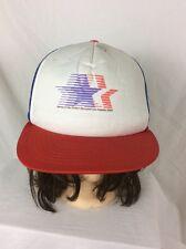 Vintage 1984 Original Olympics Cap Trucker Cap Hat Los Angeles Summer Olympics!!