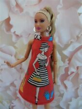 Vêtements poupées Barbie, Fashion Royalty, Poppy Parker, robe mode vintage