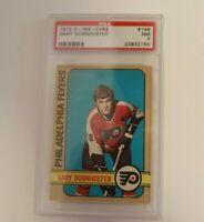 1972 O-Pee-Chee OPC Hockey #146 Gary Dornhoefer Flyers PSA 7