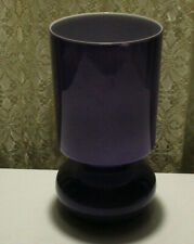 "IKEA  Lykta Purple Haze Table Lamp Handmade  9 1/2 "" Hippie Retro Funk New Bulb"