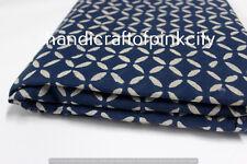 5 Yards Craft Material General Use Indigo Fabric Blue Color Handicraft fabric SS