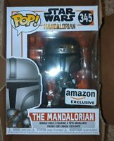 Funko Pop! The Mandalorian Chrome Beskar Limited Amazon Exclusive SHIPS NOW
