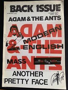 Back Issue 4 Punk Fanzine 1980 Adam & The Ants Cravats Modern English