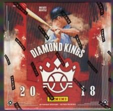 2018 PANINI DIAMOND KINGS BASEBALL HOBBY BOX FACTORY SEALED NEW
