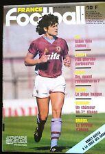France Football 2/10/1984;  Six/ PSg/ Gress/ Basque/ Briegel/ Daniel Bernard
